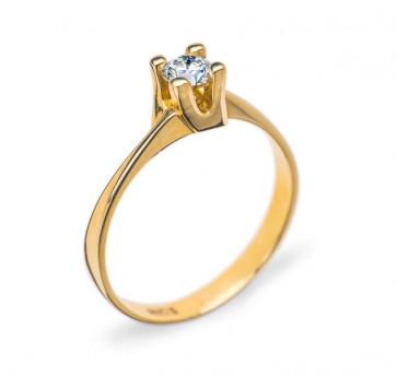 Myra помолвочное кольцо с бриллиантом