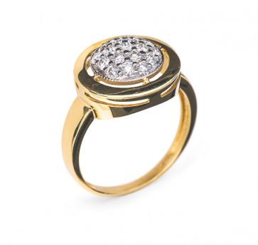 Margaret золотое кольцо с бриллиантами