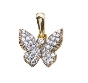 Meissa подвеска в форме бабочки с бриллиантами