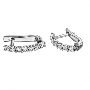 Серьги с бриллиантами E0904