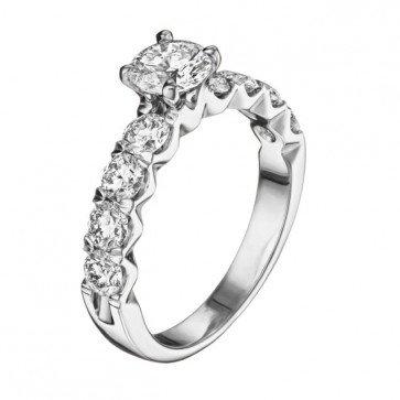 Кольцо с бриллиантами R1022