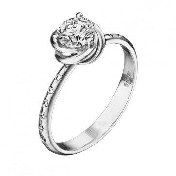 Бриллиантовое кольцо R1187