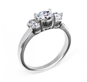 Betria стильное золотое кольцо с бриллиантом