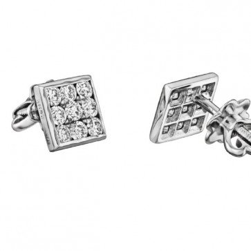 Пусеты с бриллиантами E0772