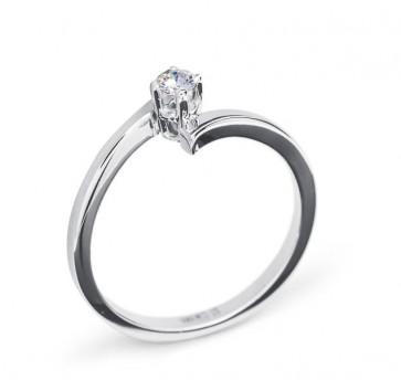 Merida золотое помолвочное кольцо с бриллиантом