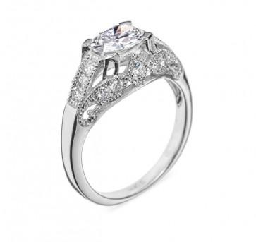 Nereid кольцо с овальным бриллиантом