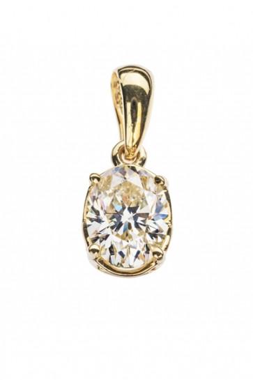 Camilla золотая подвеска с бриллиантом