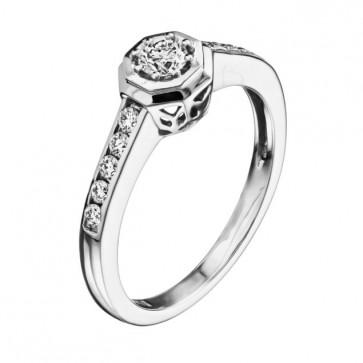 Кольцо с бриллиантами R0148