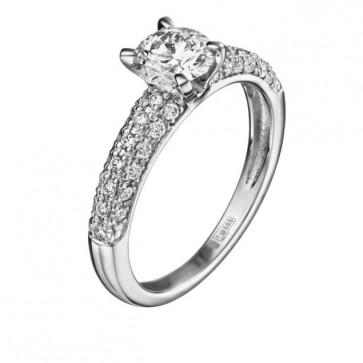 Atlas кольцо с бриллиантами