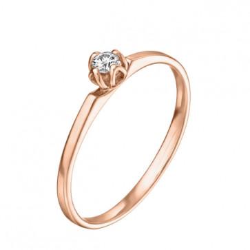 Clotilde помолвочное кольцо с бриллиантом