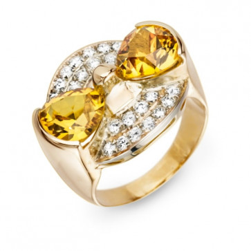 Кольцо с бриллиантами R0860