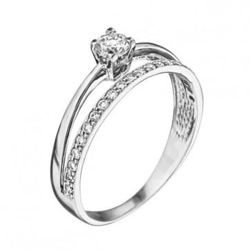 Кольцо с бриллиантами R0986