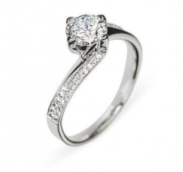 Sinope кольцо с бриллиантами