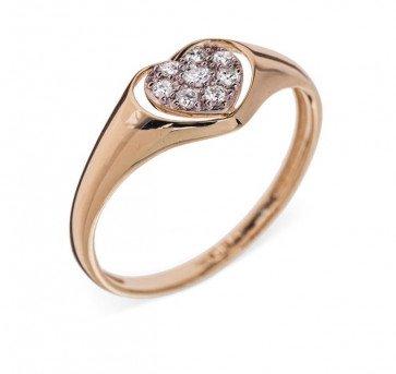 Orion кольцо из желтого золота с бриллиантами