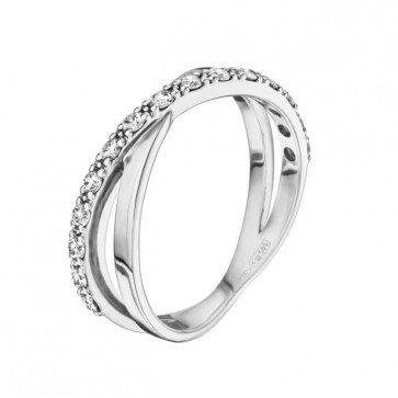 Кольцо с бриллиантами R0317