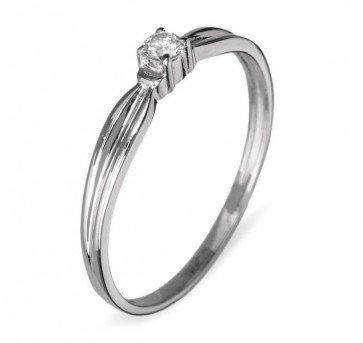 Madeleine кольцо из красного золота с бриллиантом