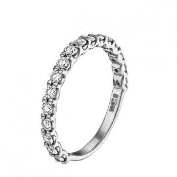 Нежное кольцо с бриллиантами R0904