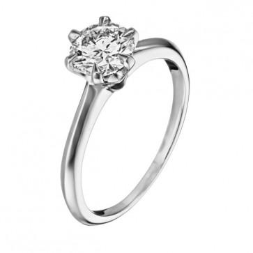 Кольцо с бриллиантом R1001