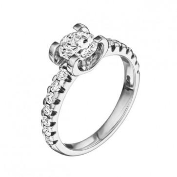 Кольцо с бриллиантами R1004