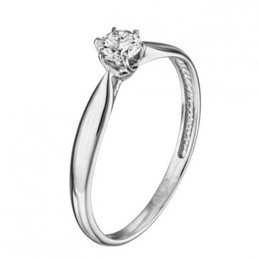 Кольцо с бриллиантом R1039