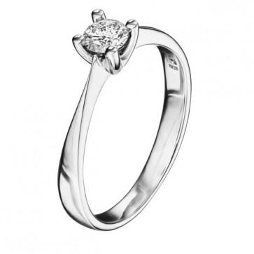 Кольцо с бриллиантом R1157