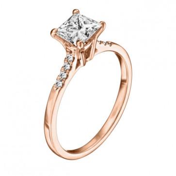 Кольцо с бриллиантами R1166