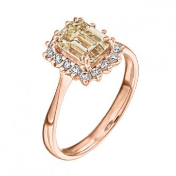 Кольцо с бриллиантами R1170