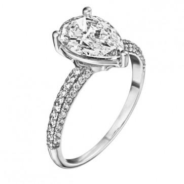 Кольцо с бриллиантами R1183