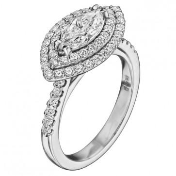 Кольцо с бриллиантами R1184