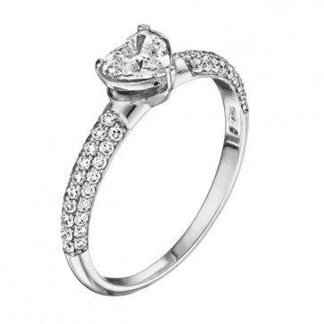 Кольцо с бриллиантами R1000