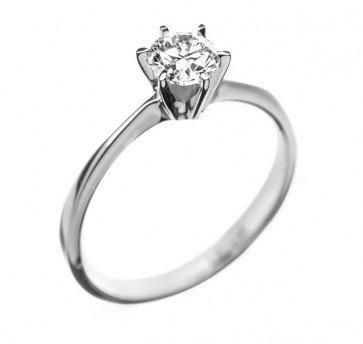 Sofia золотое колечко с бриллиантом для помолвки
