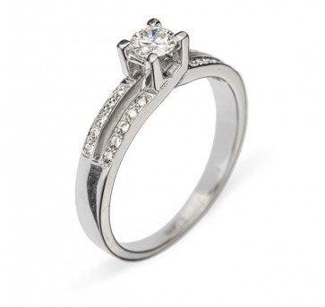 Thyone кольцо с бриллиантом