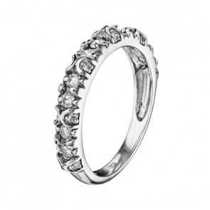 Aquila кольцо с бриллиантами из белого золота