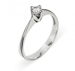 Anastasia золотое колечко с бриллиантом