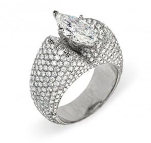 Antheia роскошное кольцо с бриллиантами