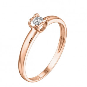 Charlene кольцо с бриллиантом