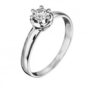 Кольцо с бриллиантом R1182